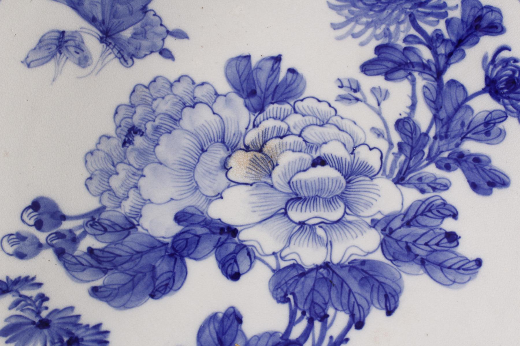 Großer Wandteller, China 1. Hälfte 20. Jh.-2