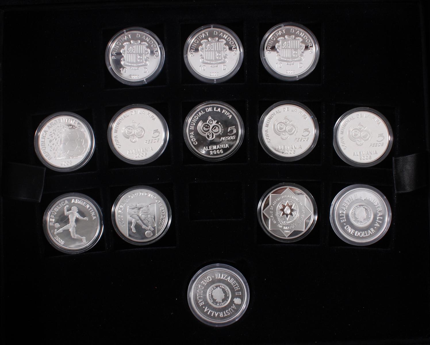 Die offiziellen Silber-Gedenkmünzen der Fifa Fußballweltmeisterschaft Deutschland 2006-6