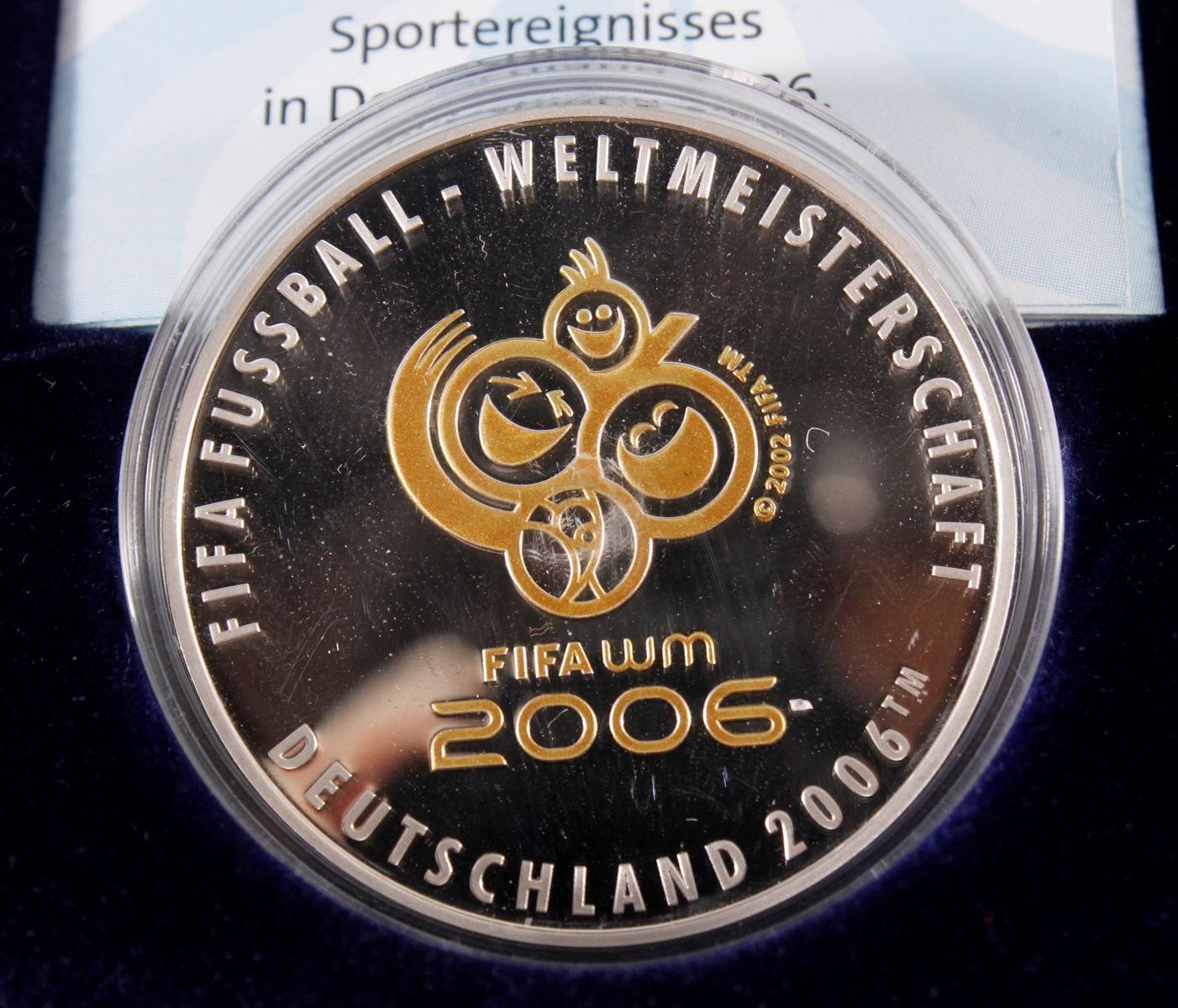 100 Euro Fifa-Weltmeisterschaft Deutschland 2006-2