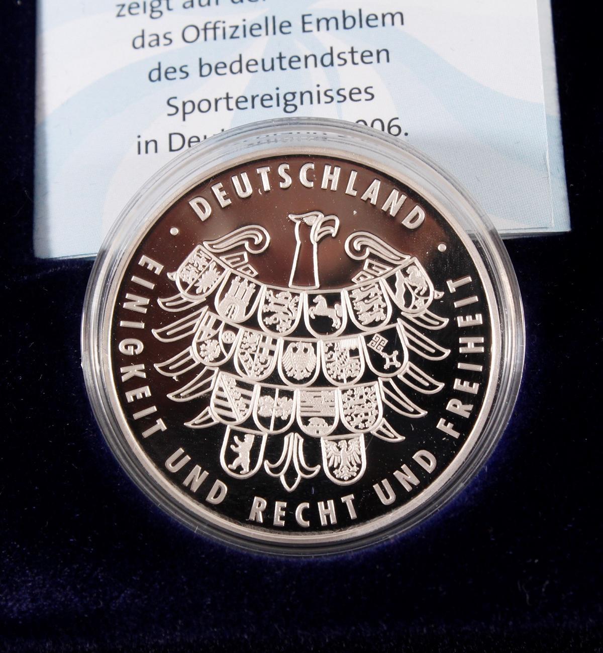 100 Euro Fifa-Weltmeisterschaft Deutschland 2006-3