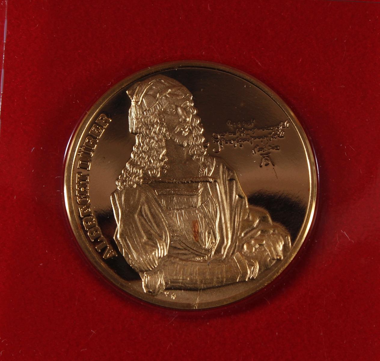 Goldmedaille Albrecht Dürer von 1978-2