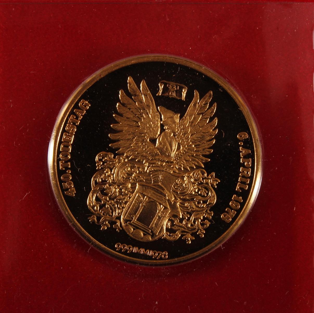 Goldmedaille Albrecht Dürer von 1978-3