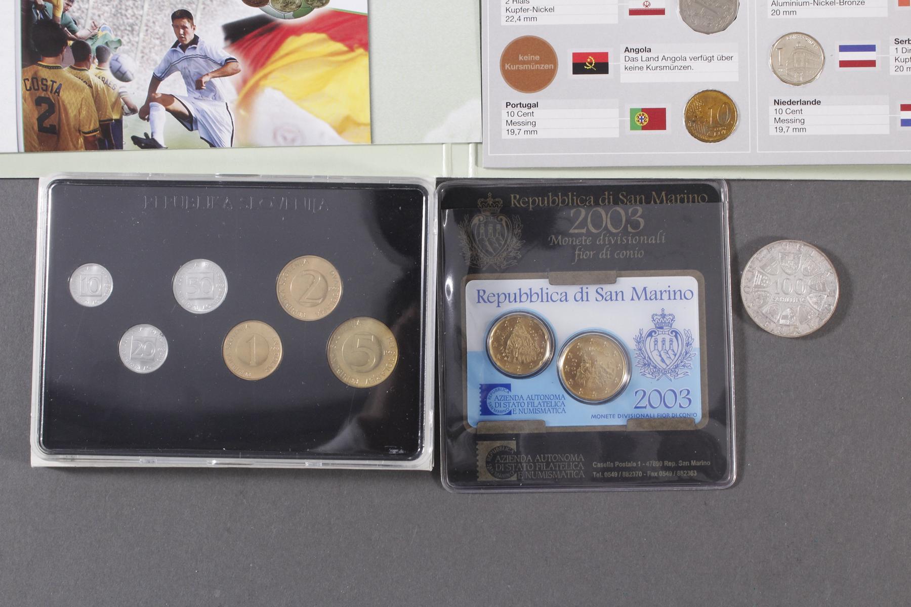 Sammlung Münzen und Medaillen.-4