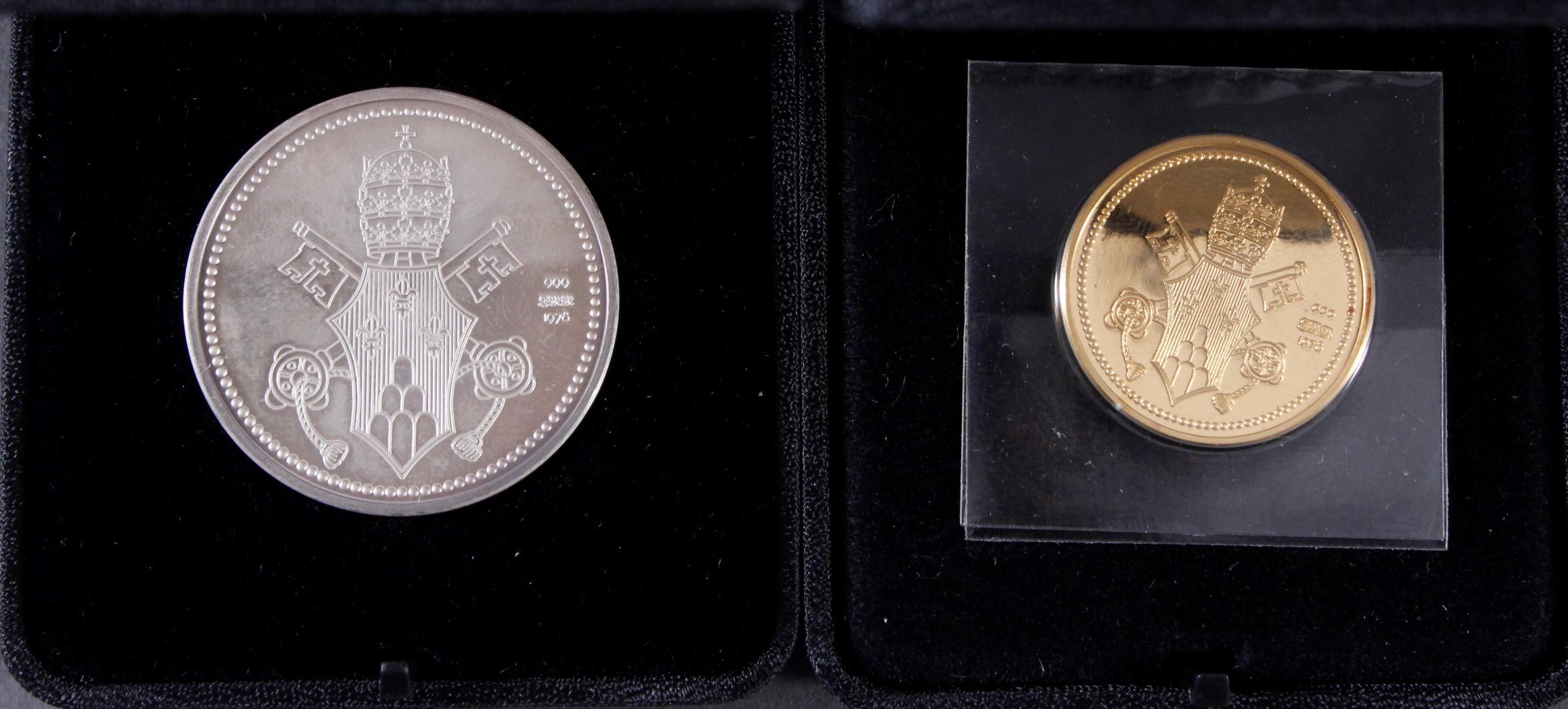Die Papst Paul VI. Gedenkmedaillen in Silber und Gold-3
