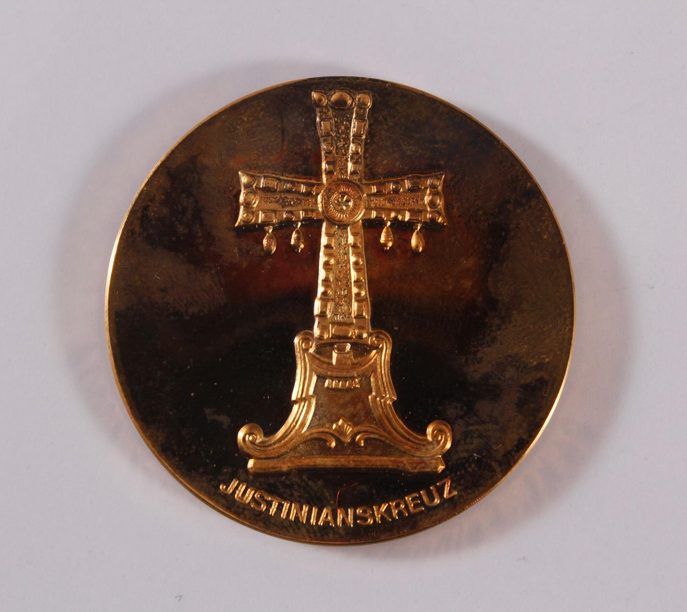 Goldemedaille Paul VI. 1897 – 1978-2