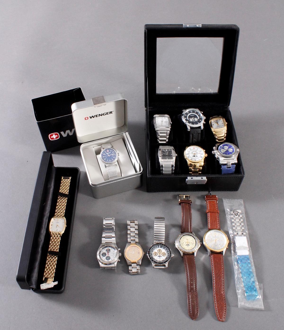Konvolut Armbanduhren, 13 Stück