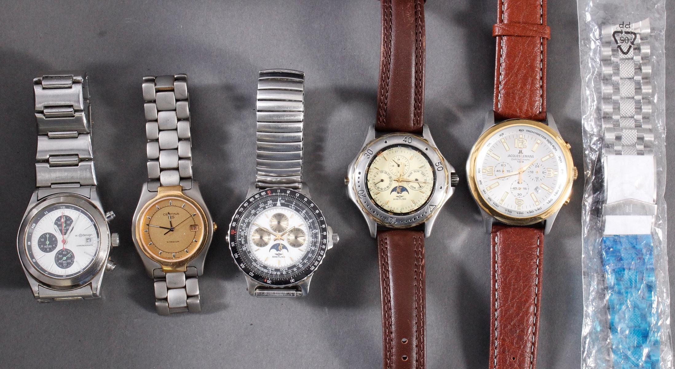 Konvolut Armbanduhren, 13 Stück-2
