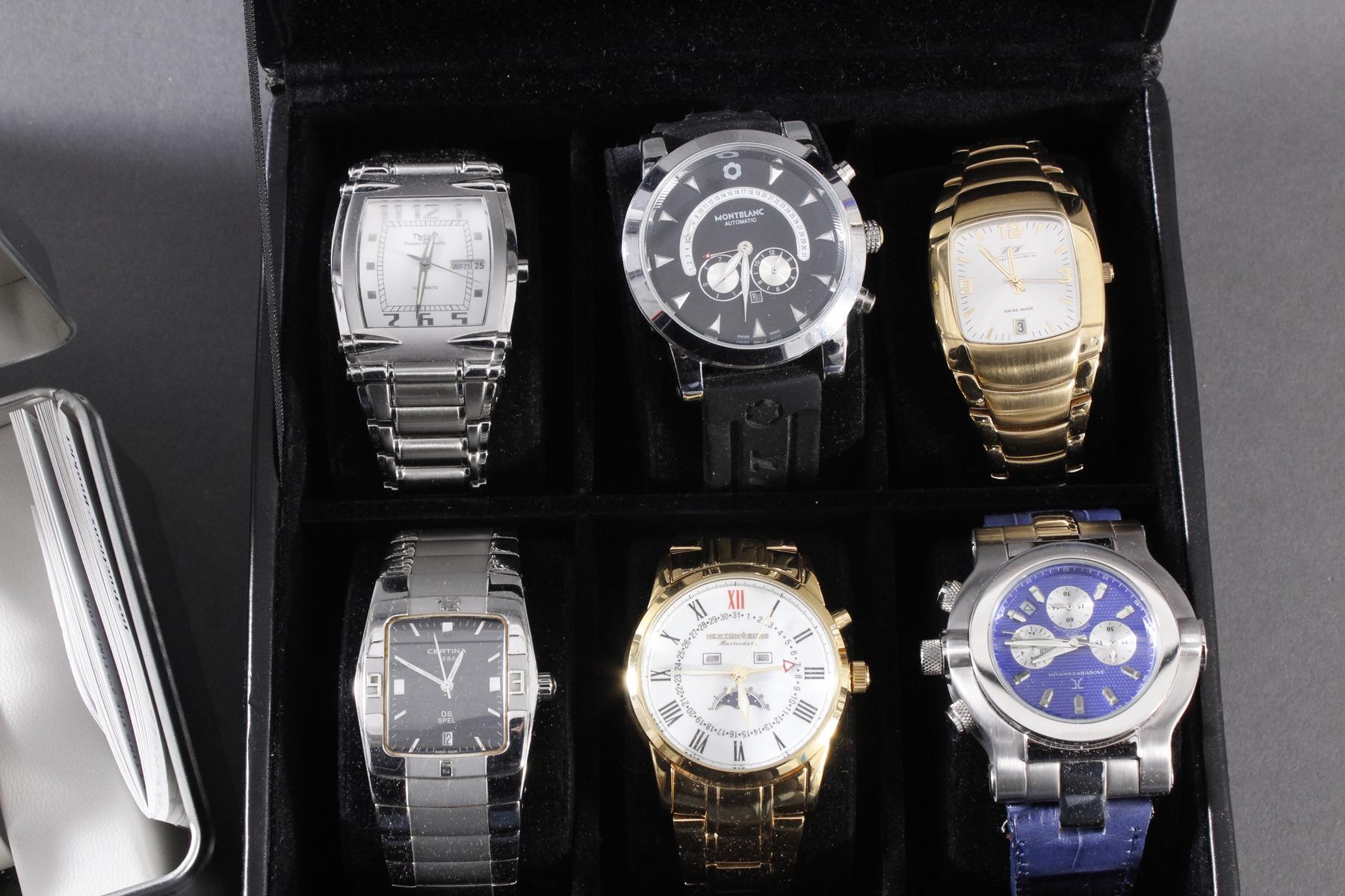 Konvolut Armbanduhren, 13 Stück-3