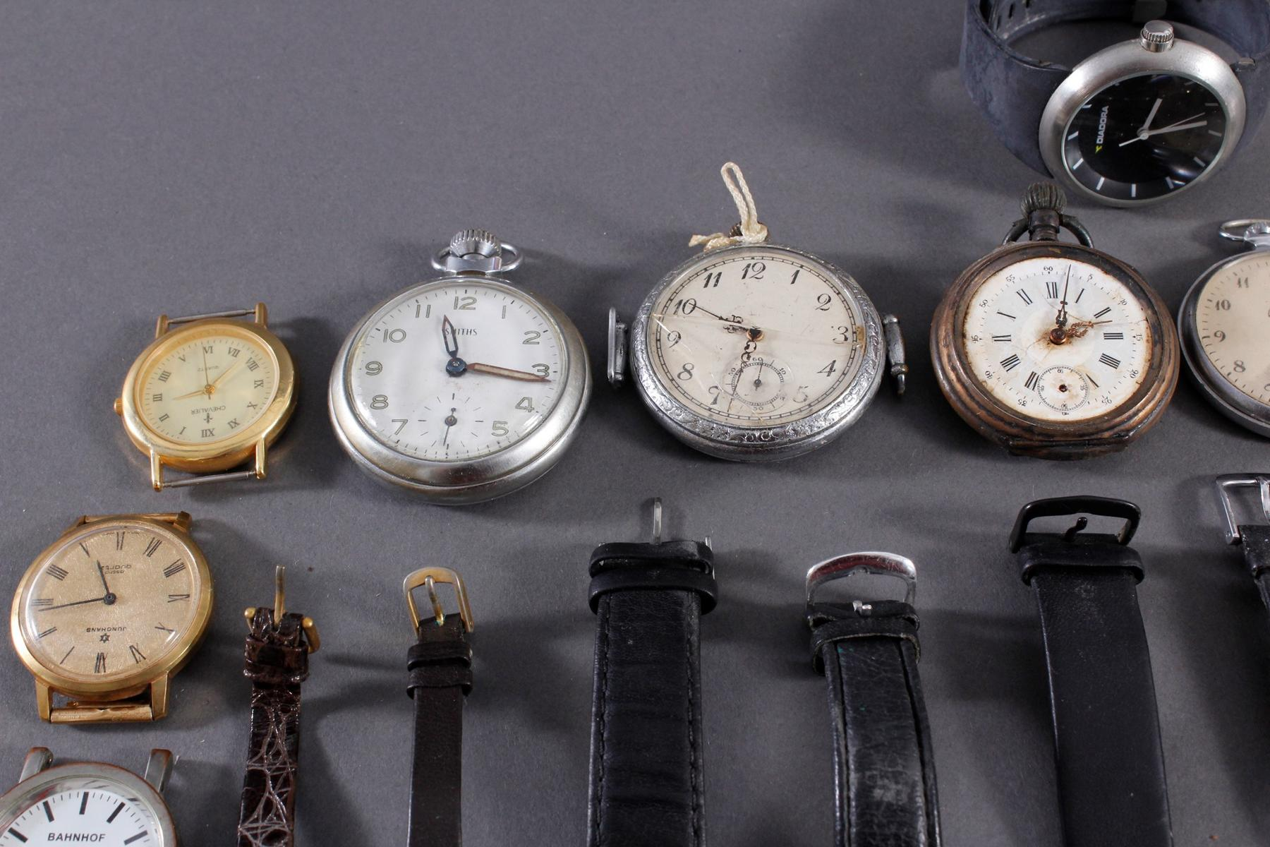 Konvolut Taschen- und Armbanduhren-2