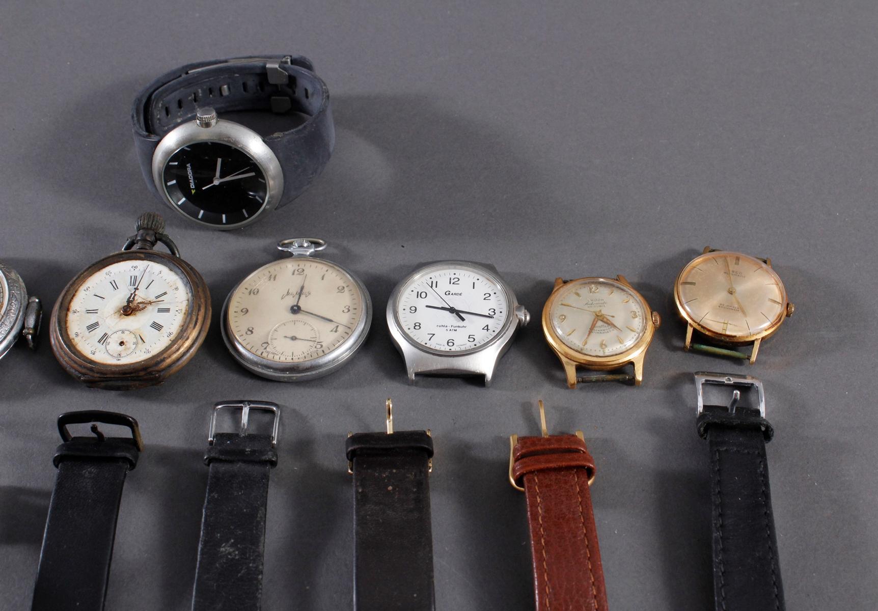 Konvolut Taschen- und Armbanduhren-3