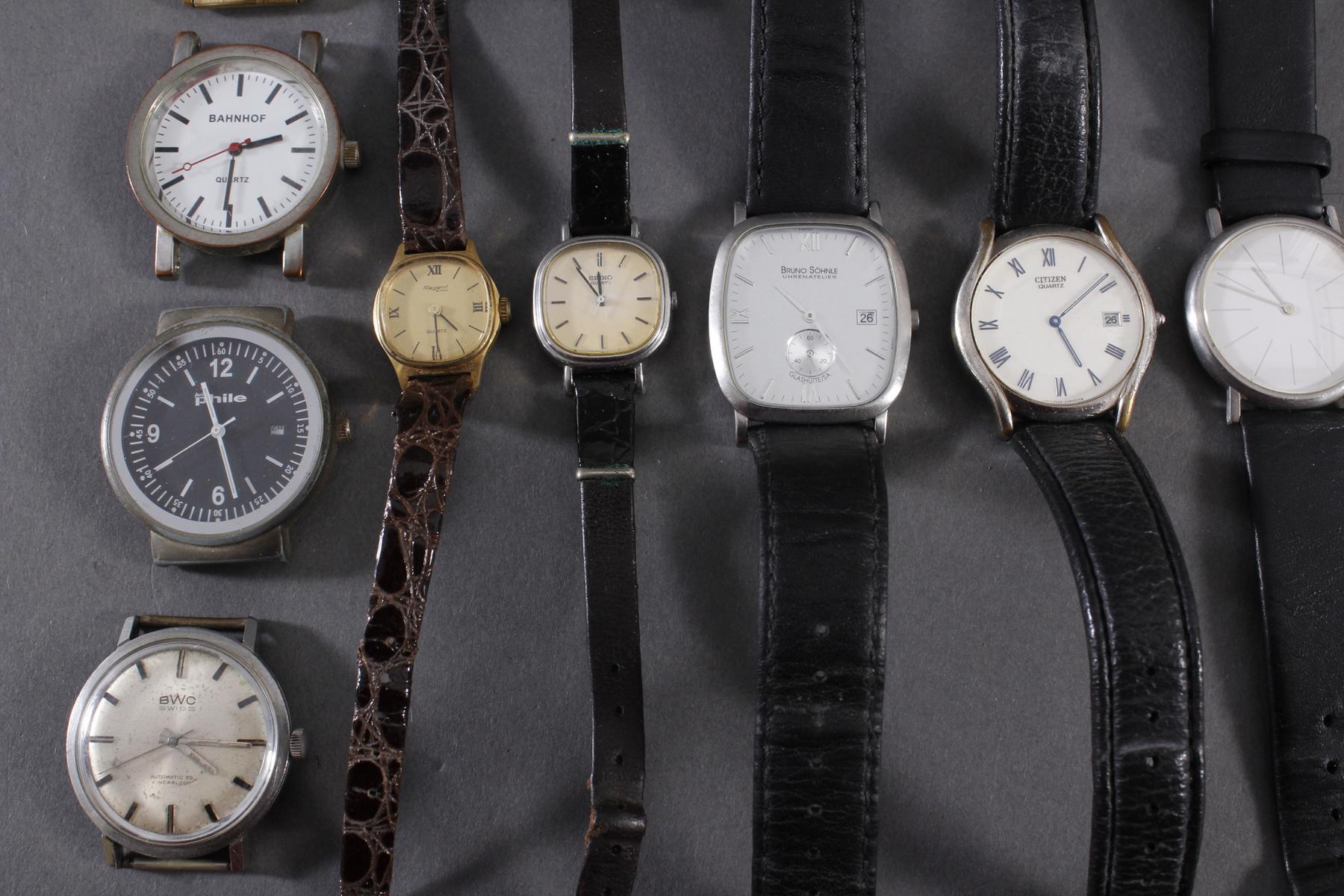 Konvolut Taschen- und Armbanduhren-6