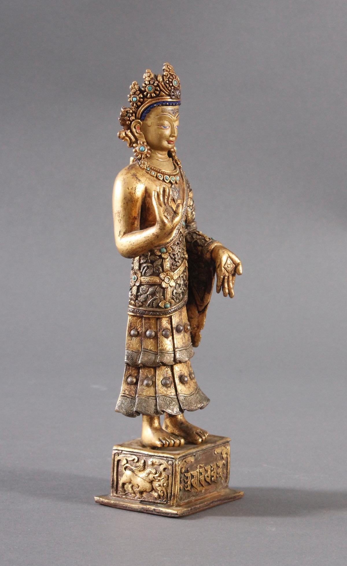 Buddha Skulptur um 1900.-3