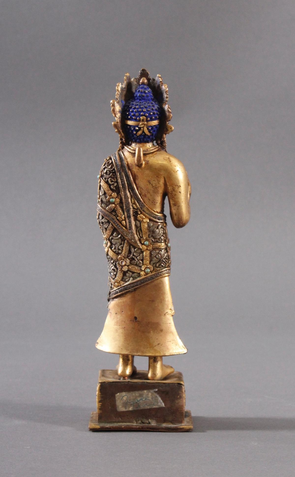 Buddha Skulptur um 1900.-4