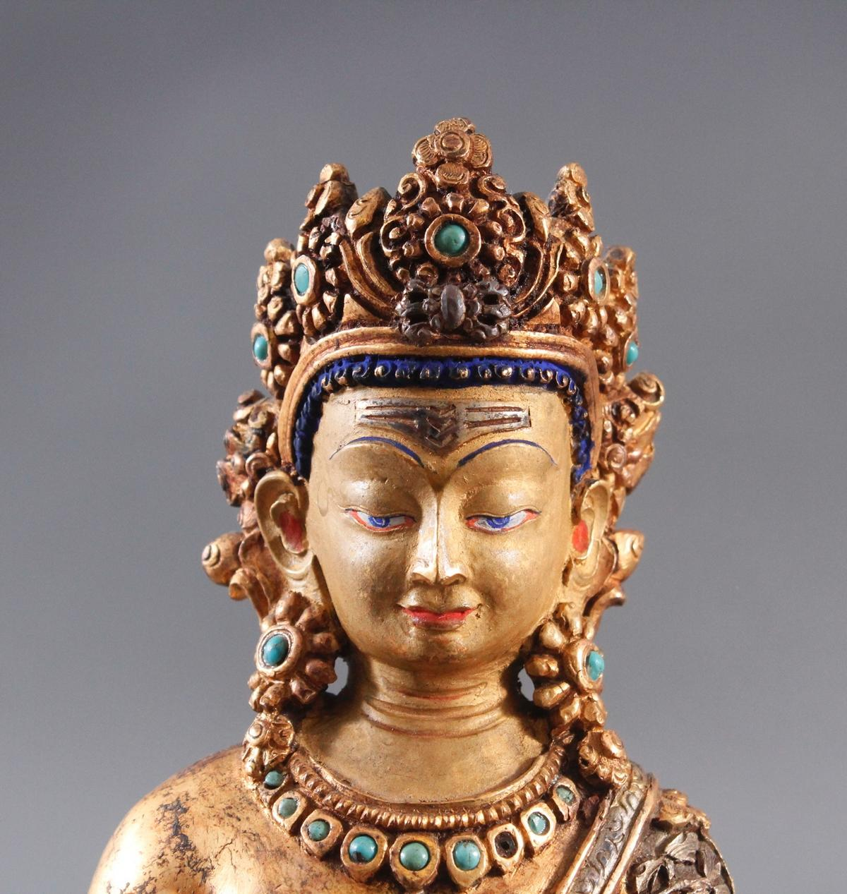 Buddha Skulptur um 1900.-5