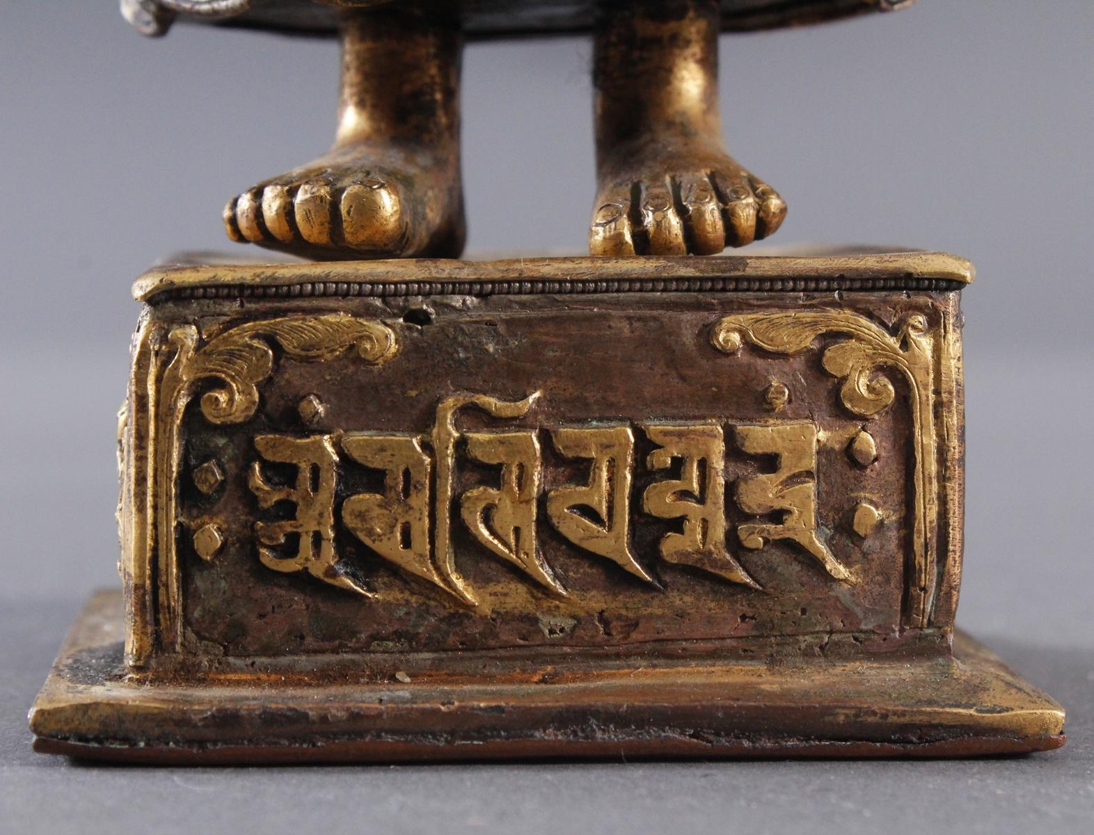 Buddha Skulptur um 1900.-6