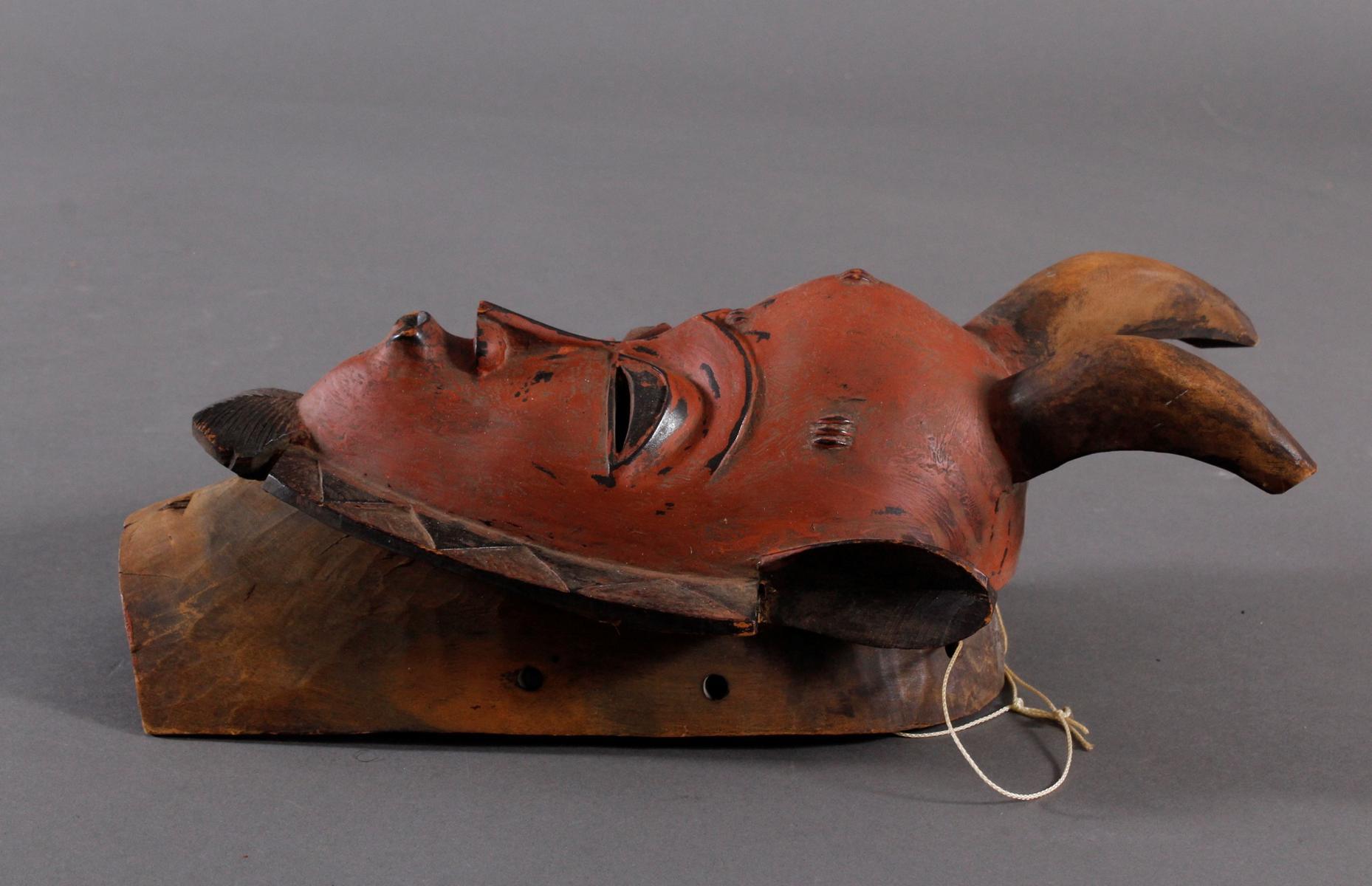 Maske der Baule, Elfenbeinküste-4