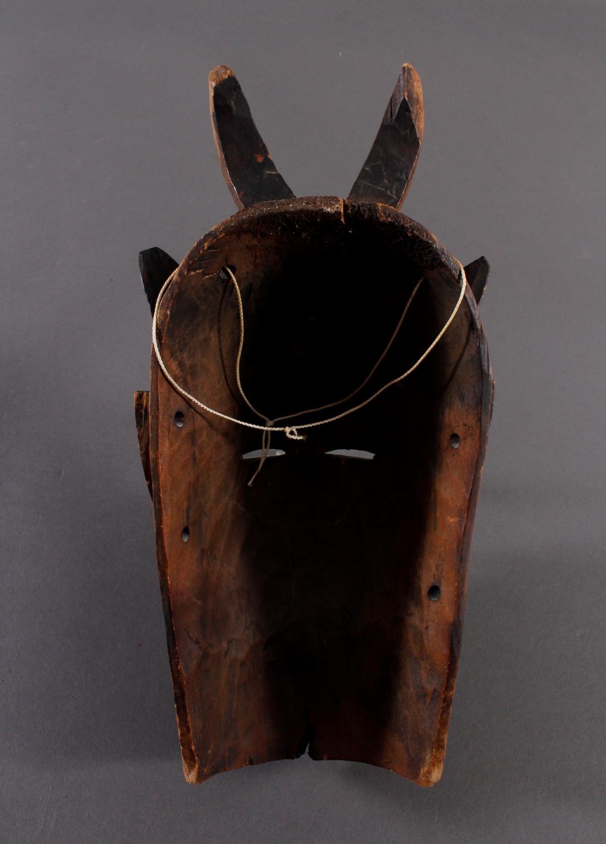 Maske der Baule, Elfenbeinküste-6