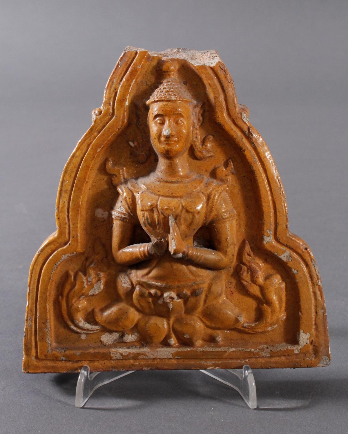 Buddha Fragment eines Frieses