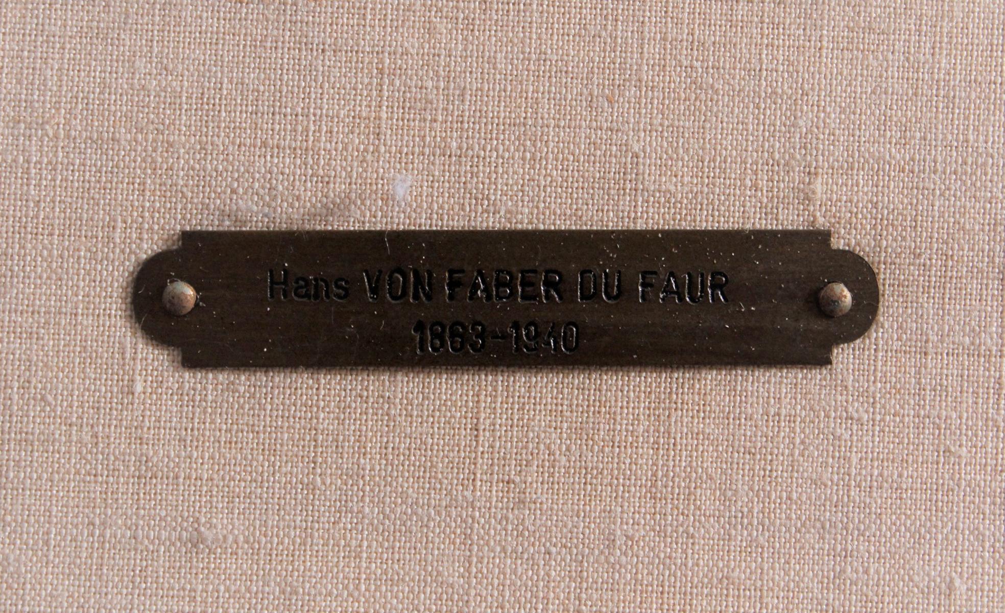 Hans VON FABER DU FAUR (1863-1940), Jagdreiter mit Hunden-3