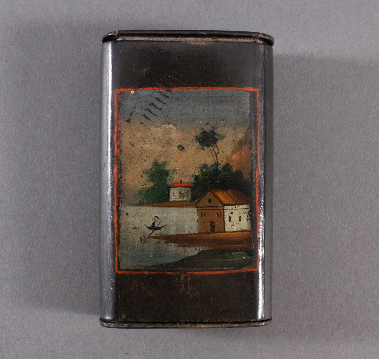 Zigarettenetui, Art Stobwasser 19. Jh.
