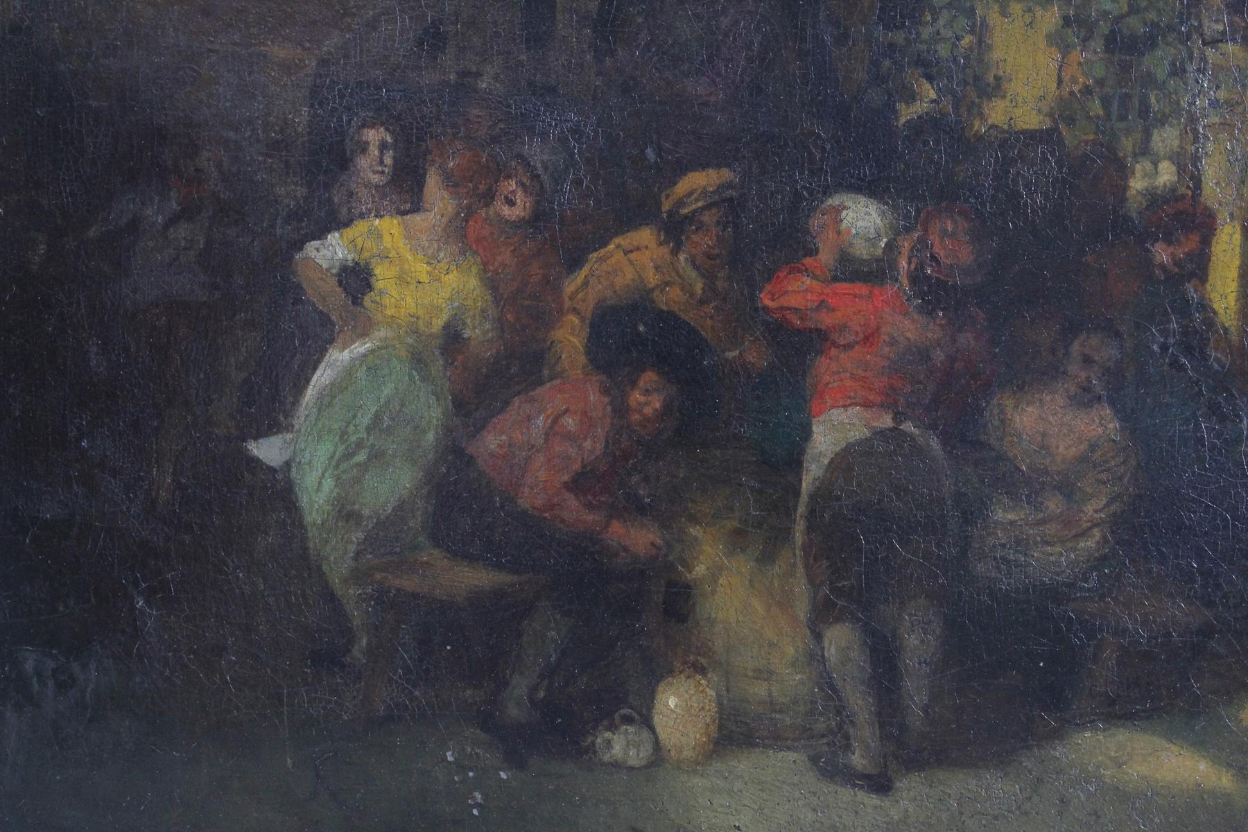 Unbekannter Künstler aus dem 18. Jh., Trinkgelage-2