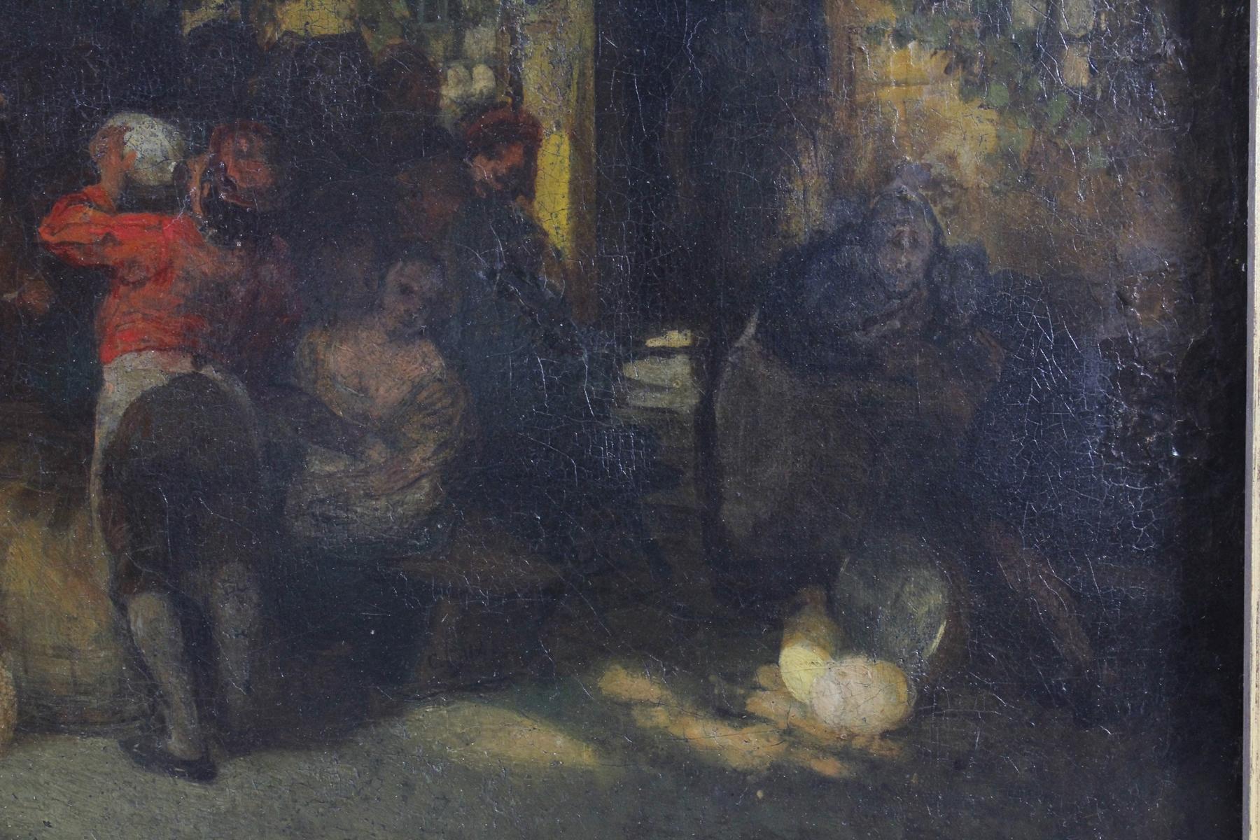 Unbekannter Künstler aus dem 18. Jh., Trinkgelage-3