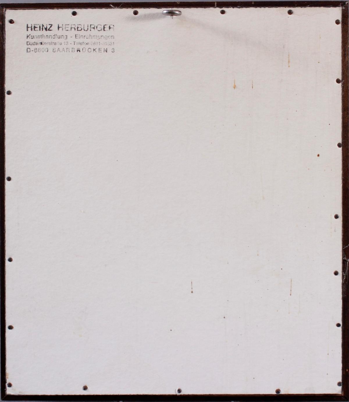Will Farber-Zietz (1901-1987). Komposition in rot, gelb, grün, blau-4