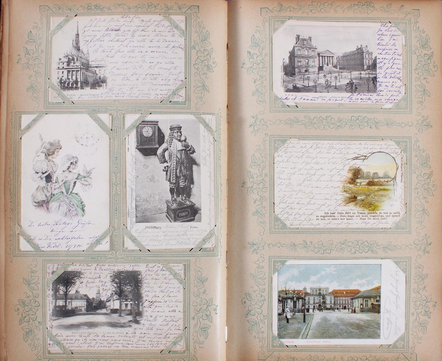 Postkartenalbum um 1900-4