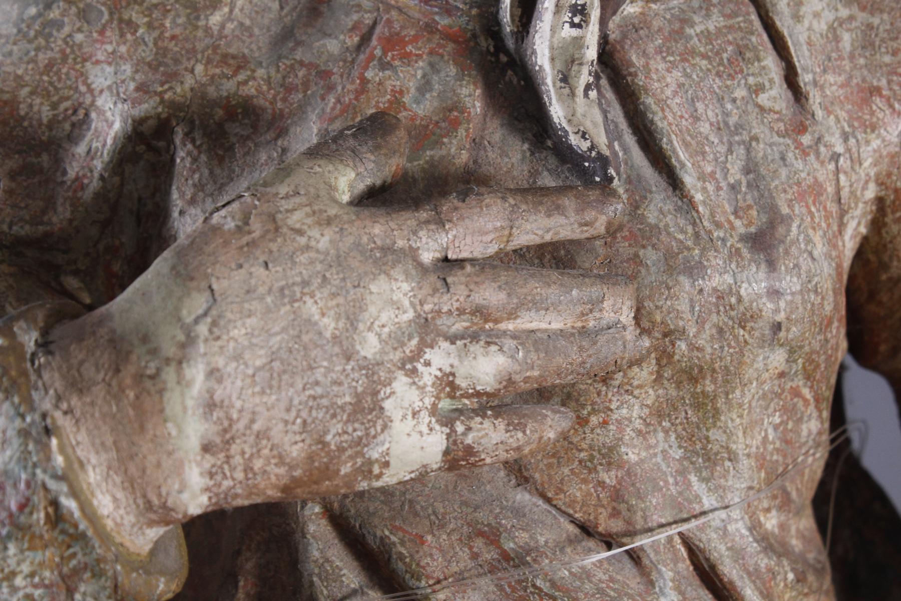 Barock Heiligenfigur, Strahlenkranz-Madonna Maria Immaculata-4