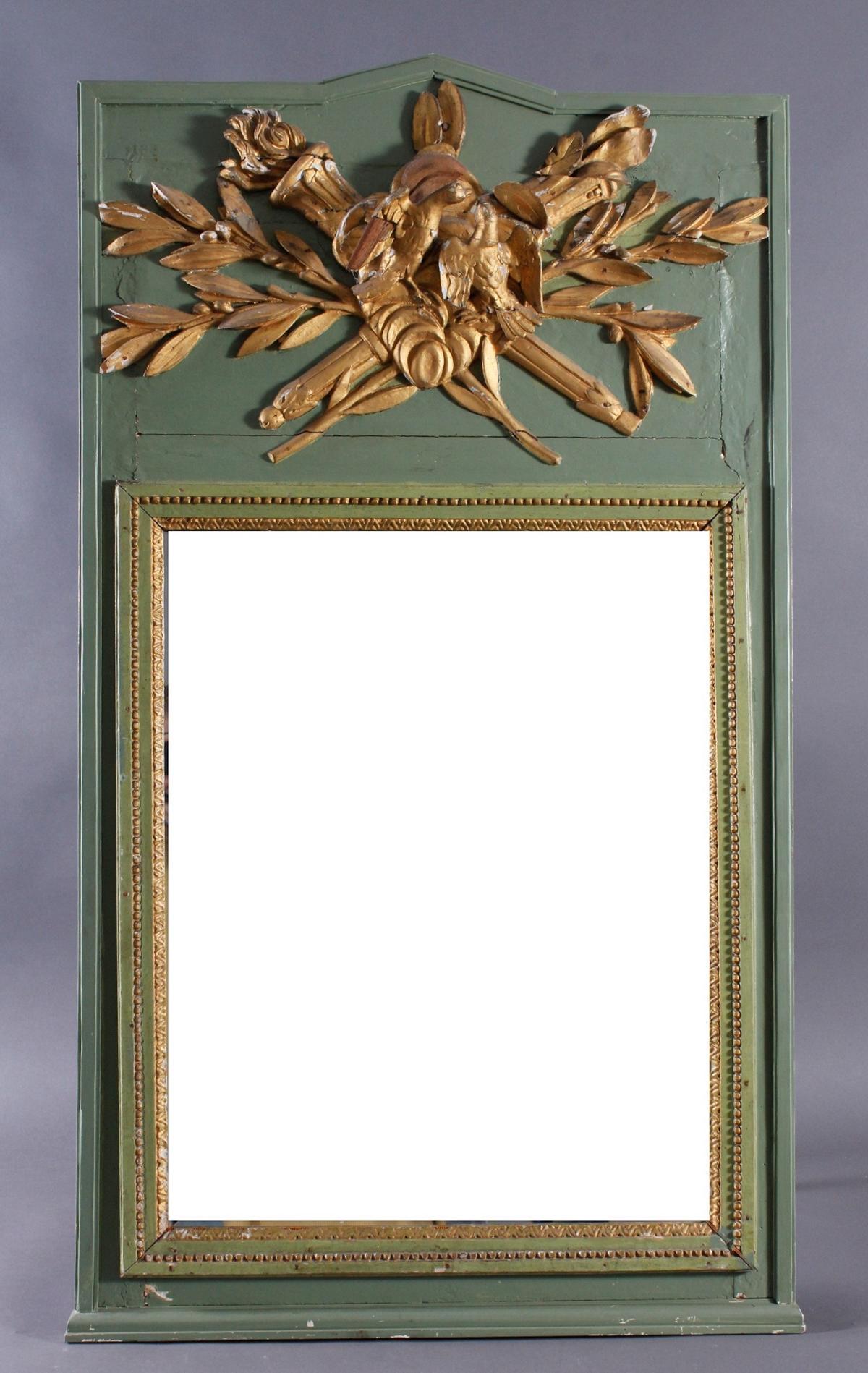 Trumeau, Frankreich 18. Jahrhundert
