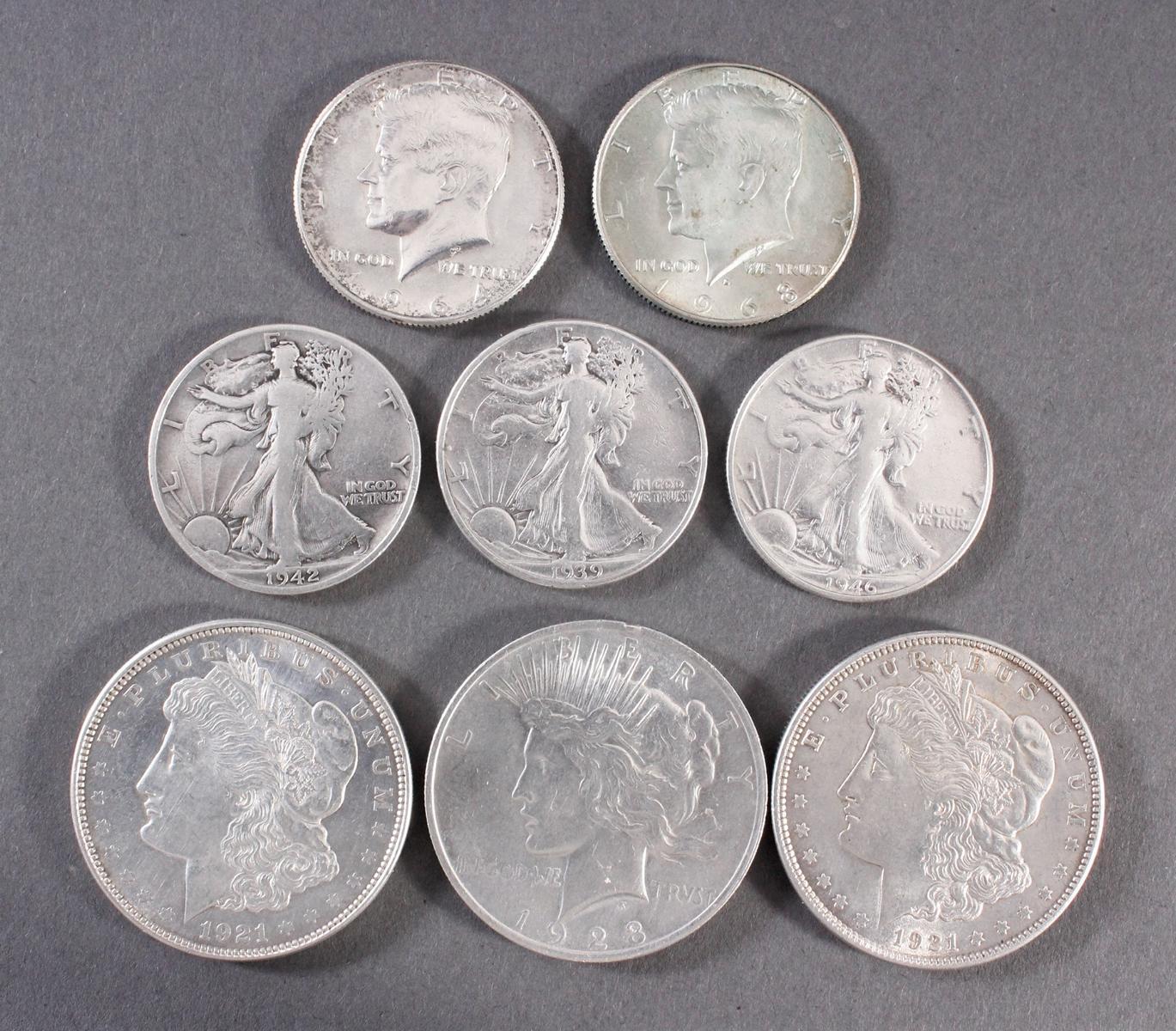 USA, kleine Münzsammlung