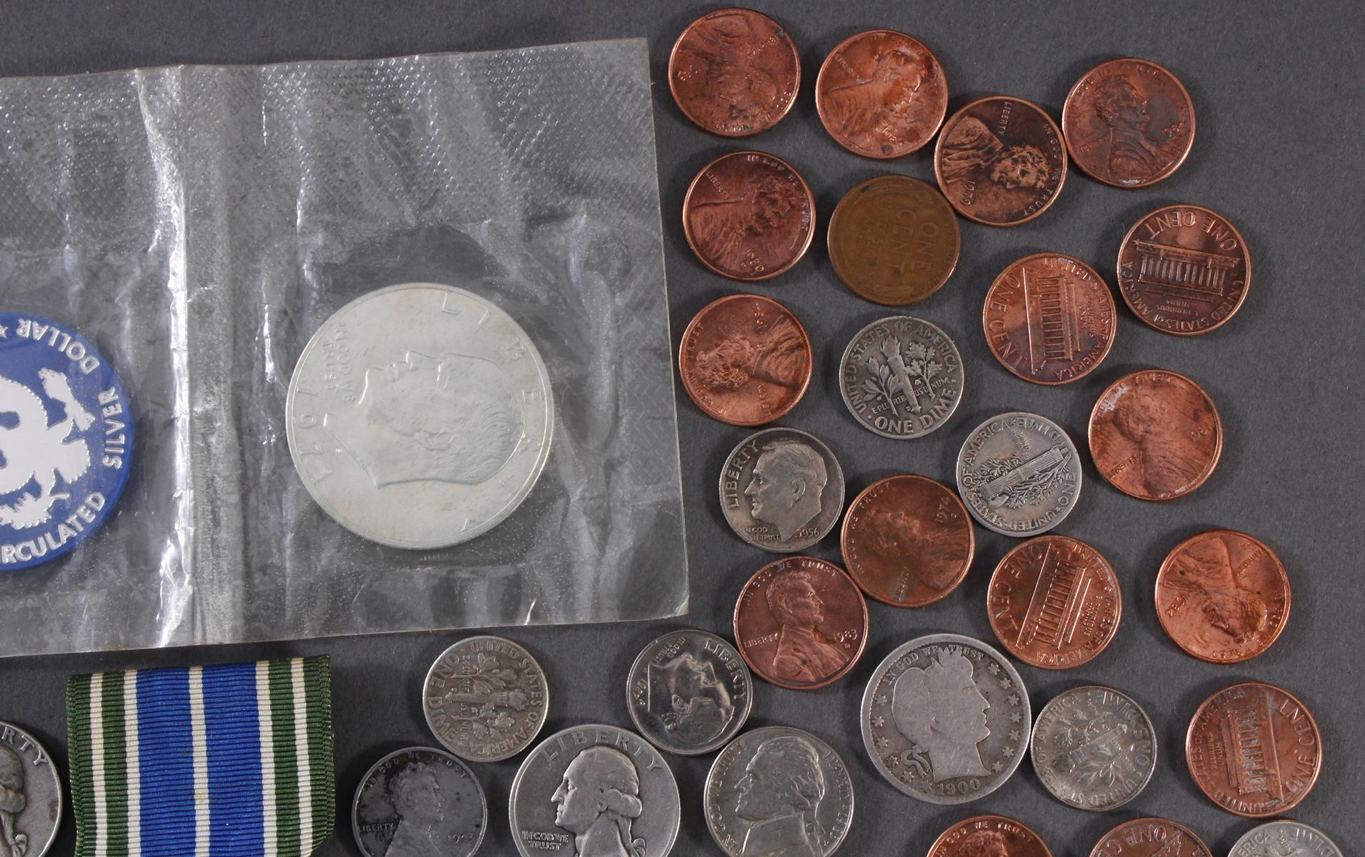 Kleine Münzsammlung USA-2