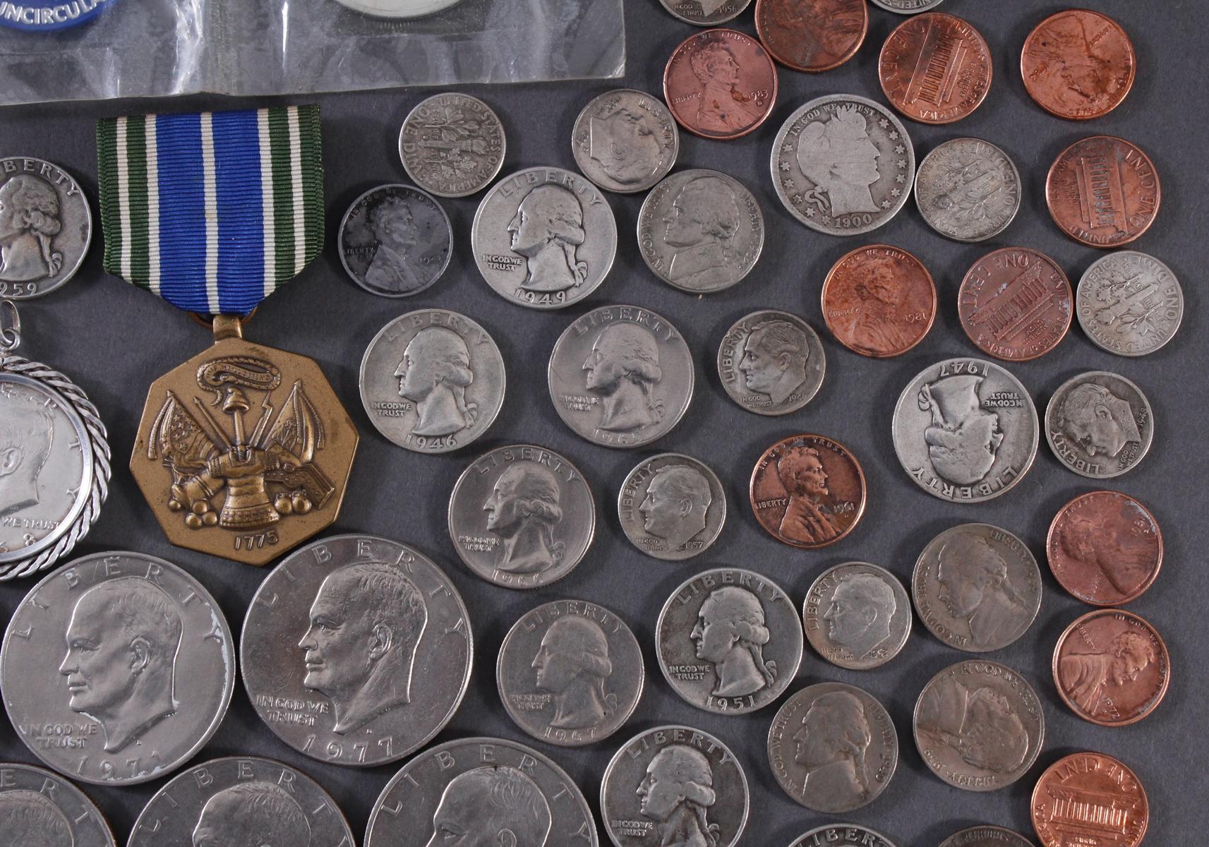 Kleine Münzsammlung USA-3