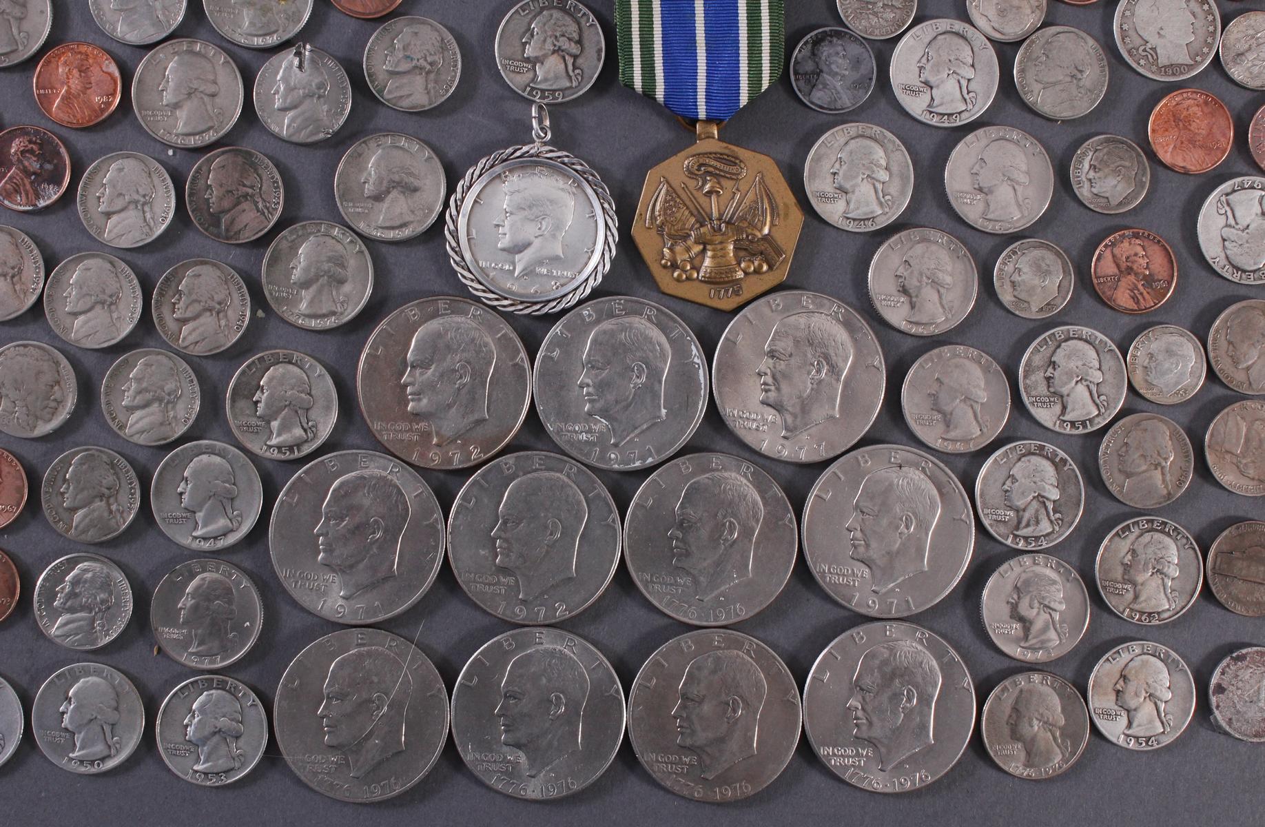 Kleine Münzsammlung USA-4