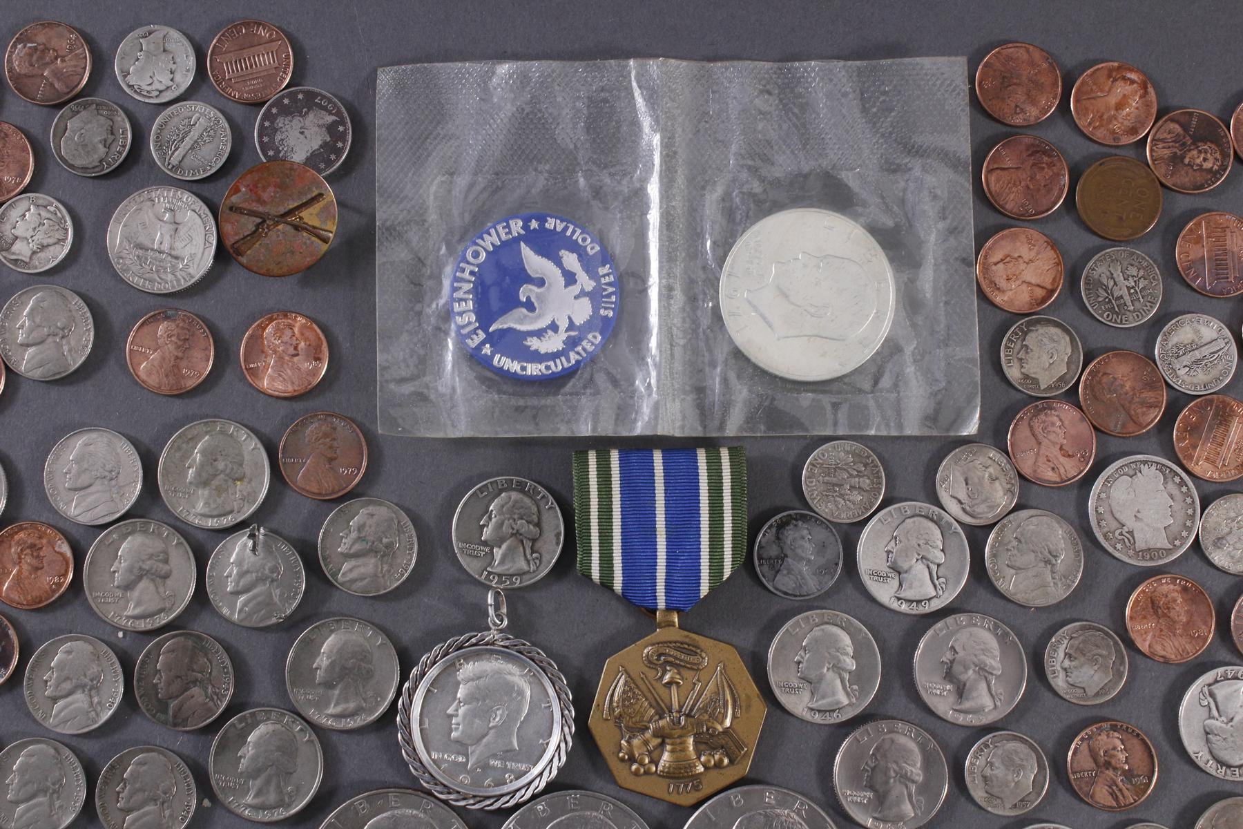 Kleine Münzsammlung USA-5