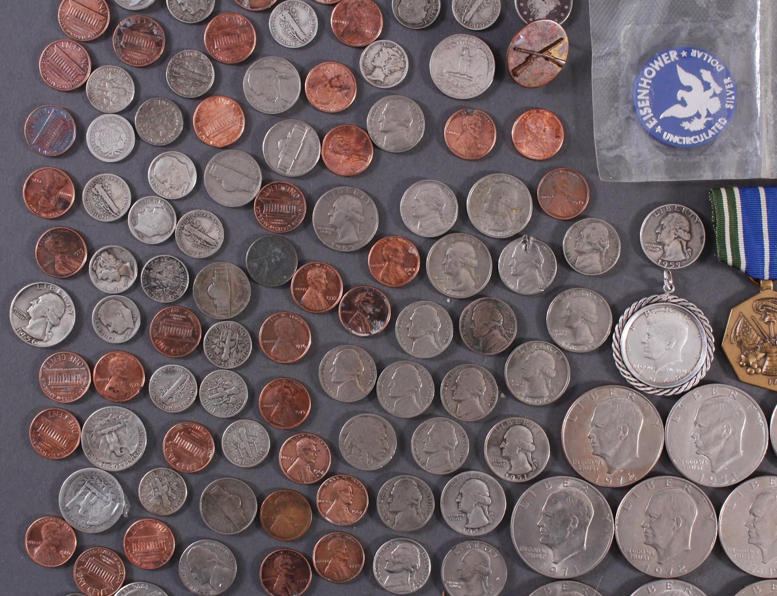 Kleine Münzsammlung USA-6