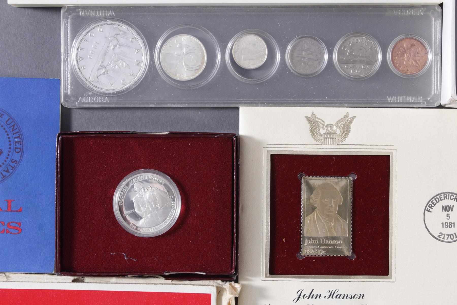 Sammlung Münzen und Goldbriefmarken-3