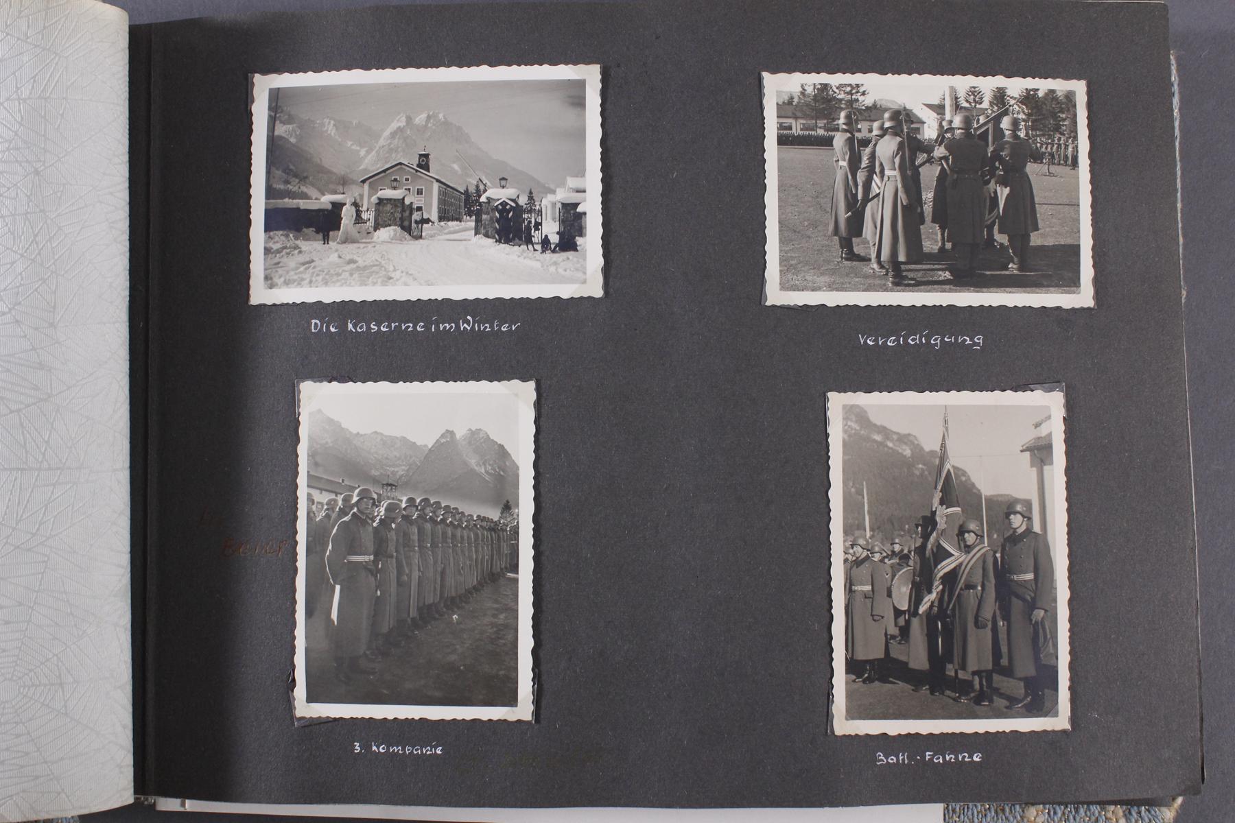2. WK. Privates Fotoalbum eines Soldaten der 1. Gebirgsdivision-3