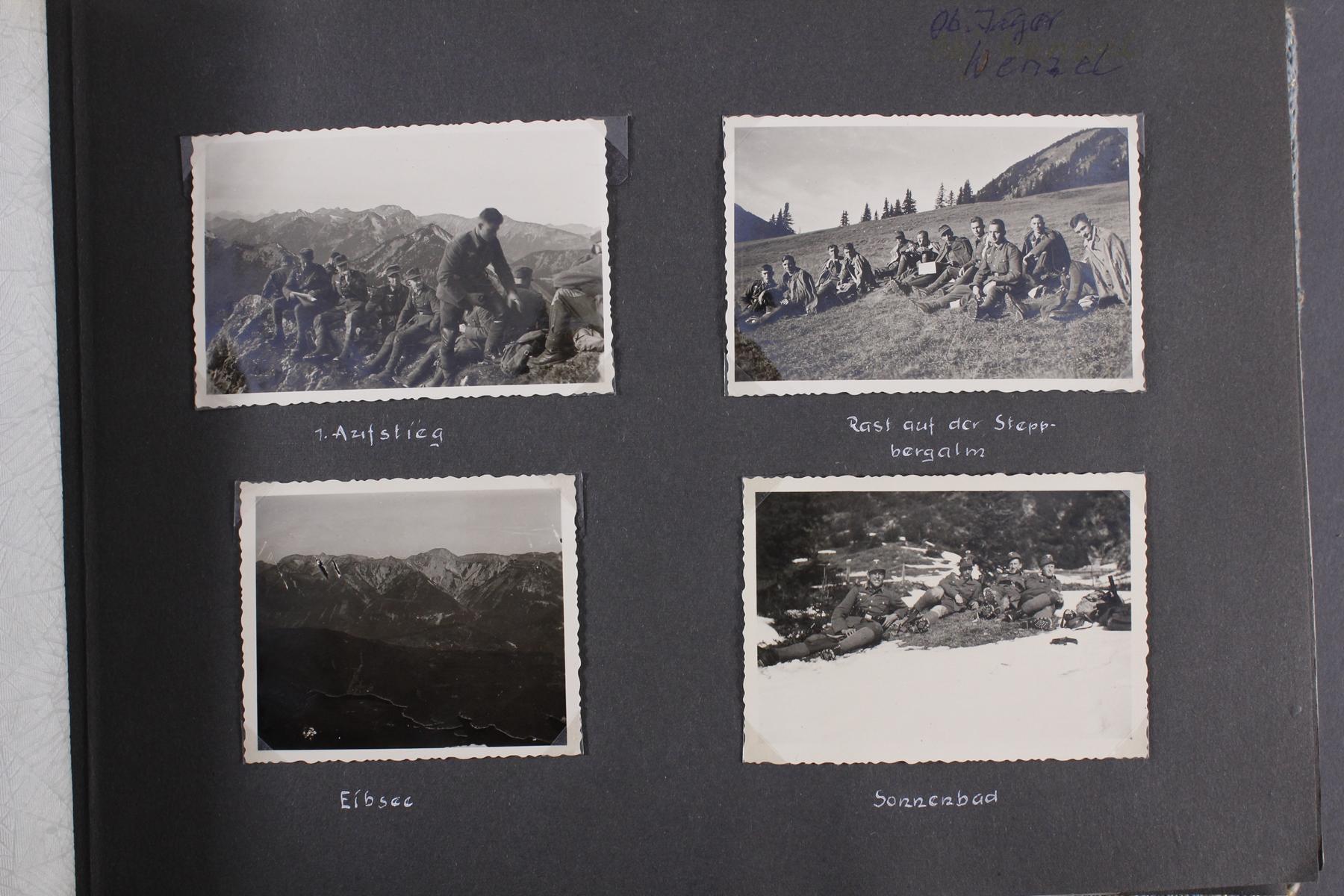 2. WK. Privates Fotoalbum eines Soldaten der 1. Gebirgsdivision-4