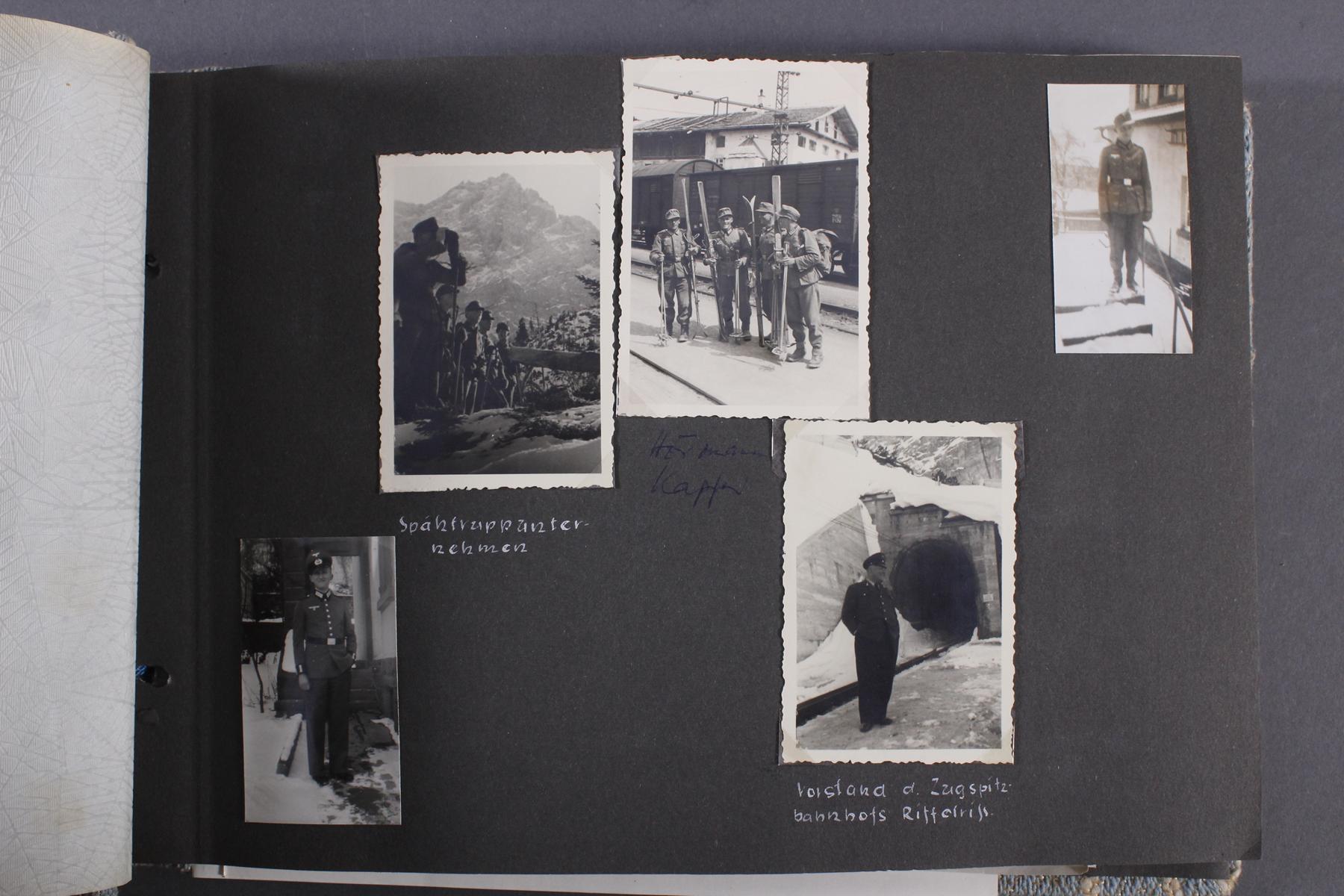 2. WK. Privates Fotoalbum eines Soldaten der 1. Gebirgsdivision-5