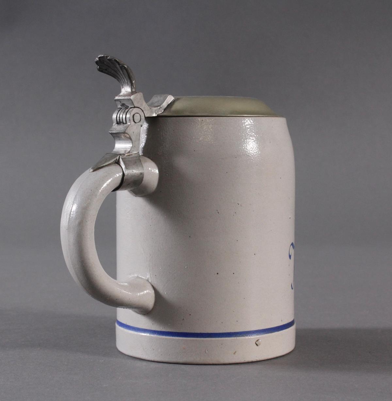 Bierkrug mit Zinndeckel, Kriegsweihnacht 1940-3