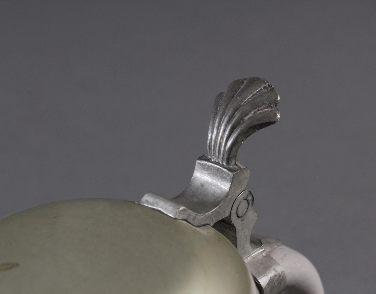 Bierkrug mit Zinndeckel, Kriegsweihnacht 1940-6