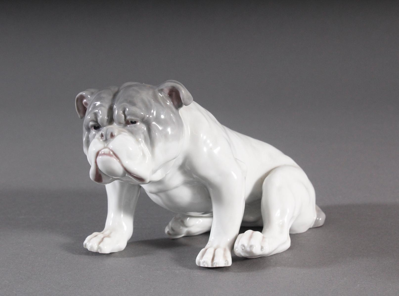 Bulldogge, Porzellanmanufaktur Heubach