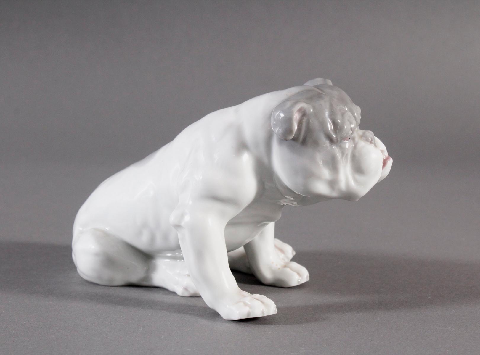 Bulldogge, Porzellanmanufaktur Heubach-3