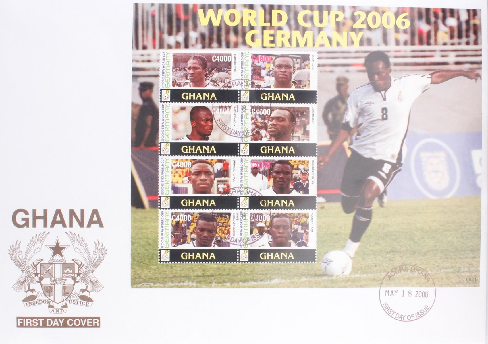 Briefmarkensammlung WM 2006-2