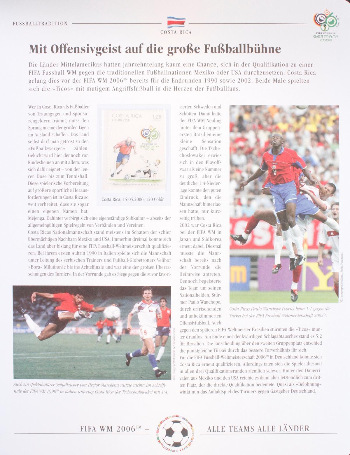 Briefmarkensammlung WM 2006-3
