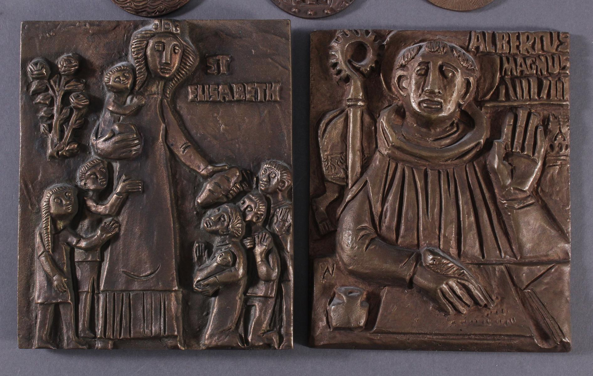 10 religiöse Bronzetafeln-3