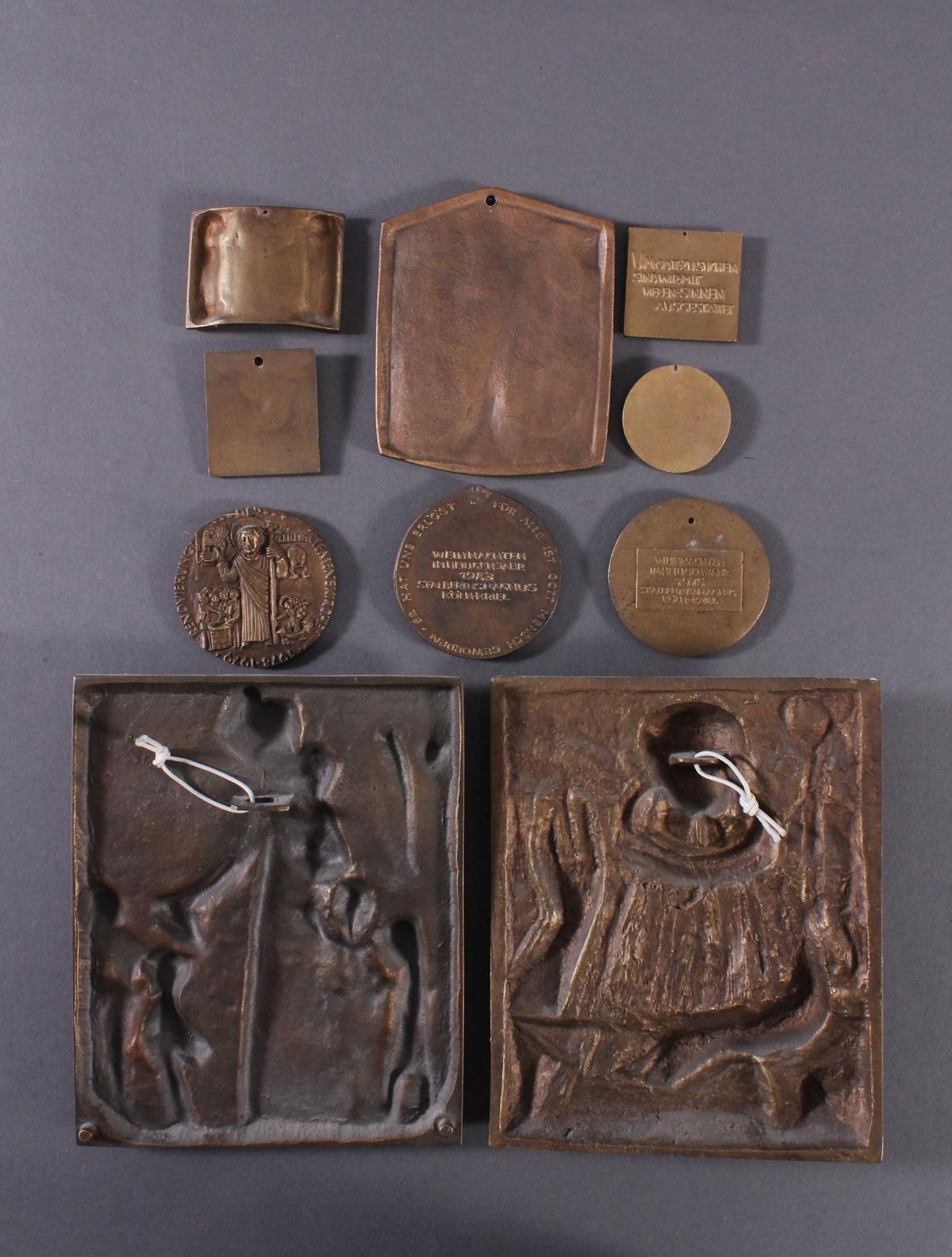 10 religiöse Bronzetafeln-4