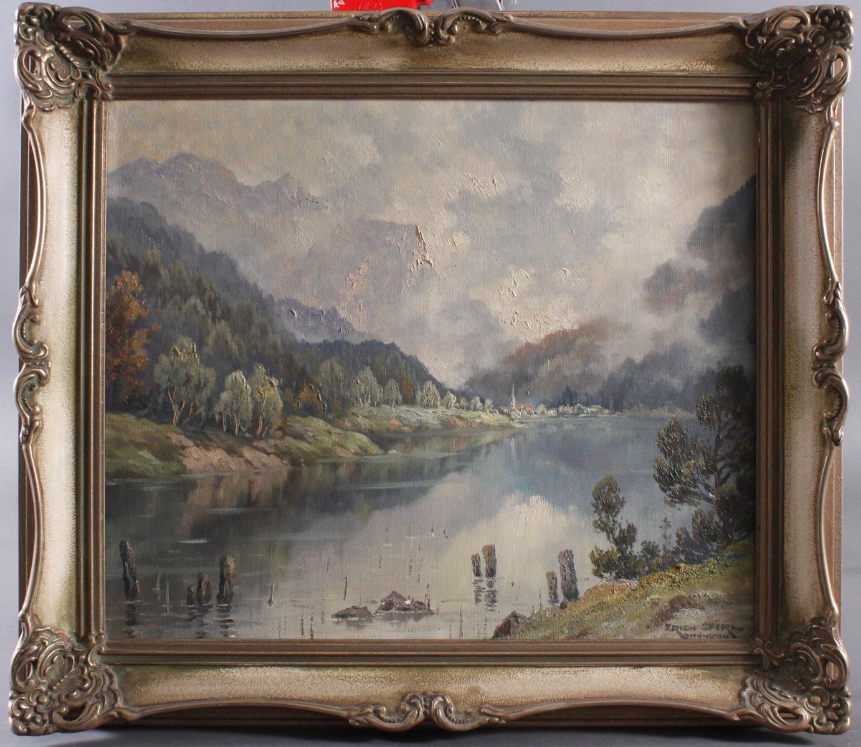 Professor Erich Spörl. Münchener Maler des 20 Jahrhunderts