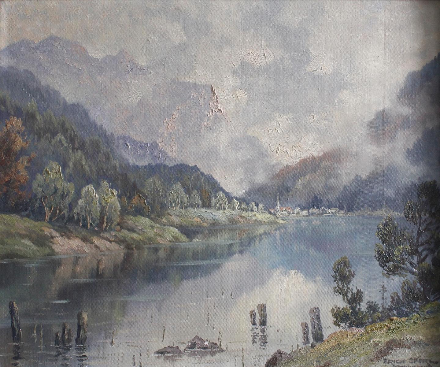 Professor Erich Spörl. Münchener Maler des 20 Jahrhunderts-2